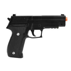 Pistola Airsoft  Calibre 6,0 mm G26 Spring Full Metal